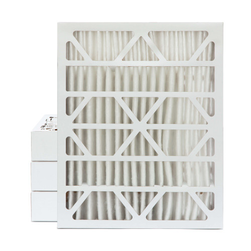 20x25x4 MERV 8 Pleated AC Furnace Air Filters.    4 Pack