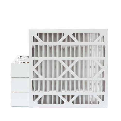 24x24x4 MERV 8 Pleated AC Furnace Air Filters.    4 Pack