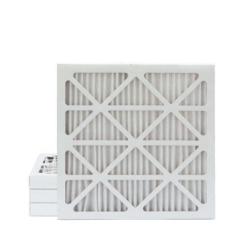 20X20X2 MERV 8 Pleated AC Furnace Air Filters.   4 Pack