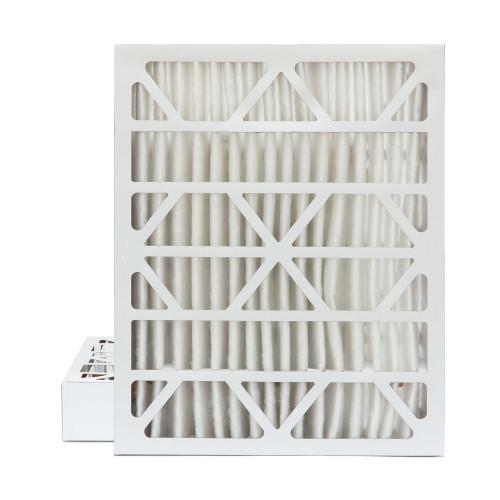 20x25x4 MERV 8 Pleated AC Furnace Air Filters.    2 Pack