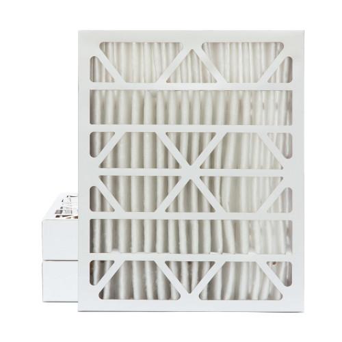20x25x4 MERV 8 Pleated AC Furnace Air Filters.    3 Pack
