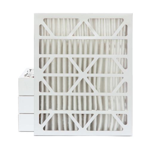 20x25x4 MERV 8 Pleated AC Furnace Air Filters.    5 Pack