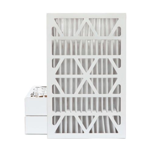 12x24x4 MERV 13 Pleated AC Furnace Air Filters.   3 Pack