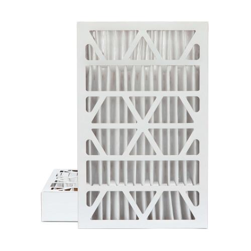 16x25x4 MERV 13 Pleated AC Furnace Air Filters.   2 Pack