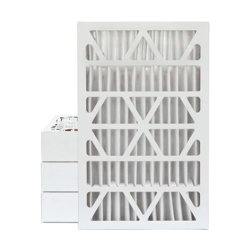 16x25x4 MERV 13 Pleated AC Furnace Air Filters.   4 Pack