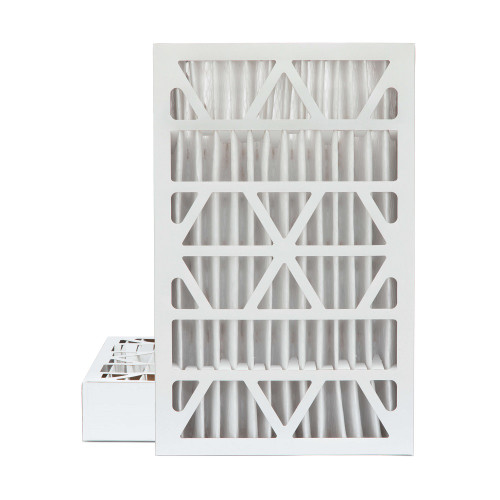 16x25x4 MERV 8 Pleated AC Furnace Air Filters.   2 Pack