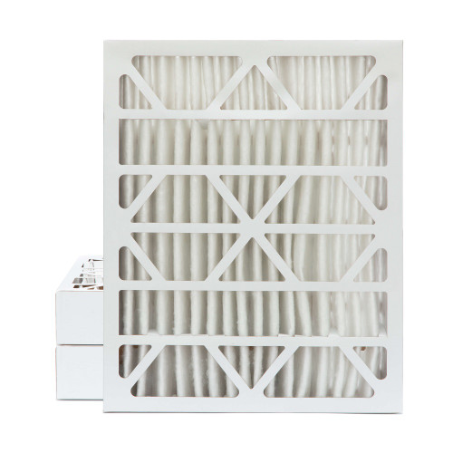 18x24x4 MERV 8 Pleated AC Furnace Air Filters.    3 Pack
