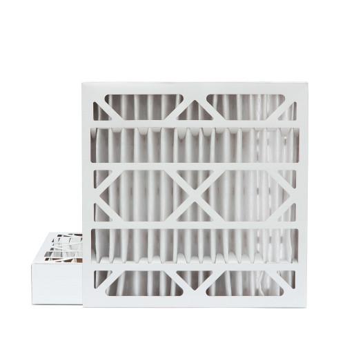 20x20x4 MERV 8 Pleated AC Furnace Air Filters.  2 Pack