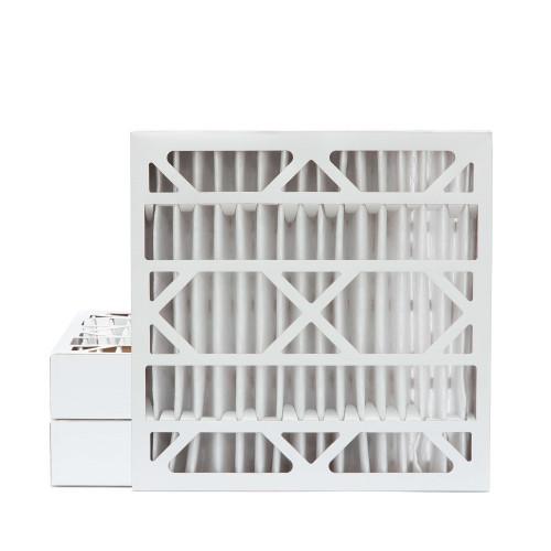 20x20x4 MERV 8 Pleated AC Furnace Air Filters.  3 Pack
