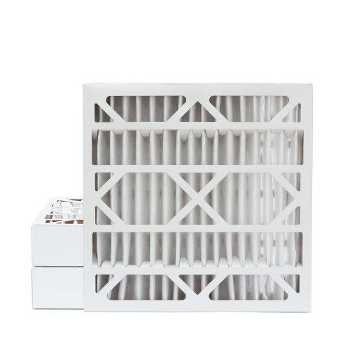 24x24x4 MERV 8 Pleated AC Furnace Air Filters.   3 Pack