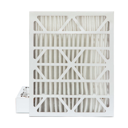 20x24x4 MERV 8 Pleated AC Furnace Air Filters.  2 Pack