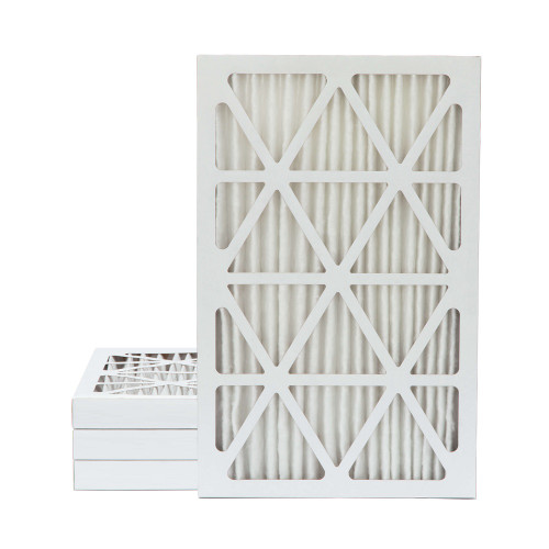 16x25x2 MERV 11 Pleated AC Furnace Air Filters.   4 Pack