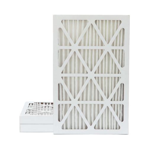 16x25x2 MERV 13 Pleated AC Furnace Air Filters.    3 Pack