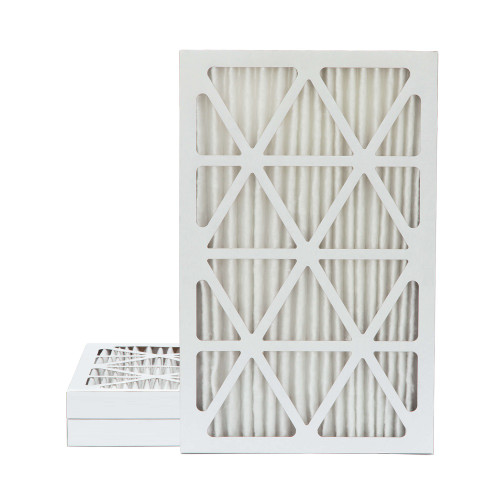 16x25x2 MERV 8 Pleated AC Furnace Air Filters.   3 Pack