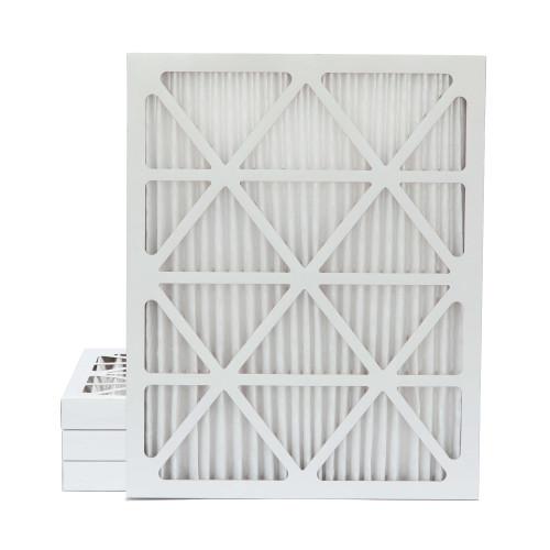 18x25x2 MERV 8 Pleated AC Furnace Air Filters. 4 Pack