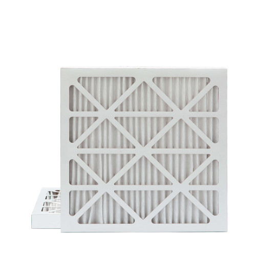 20X20X2 MERV 8 Pleated AC Furnace Air Filters.   2 Pack
