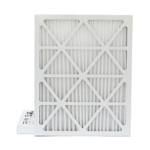 20x25x2 MERV 11 Pleated AC Furnace Air Filters.    2 Pack