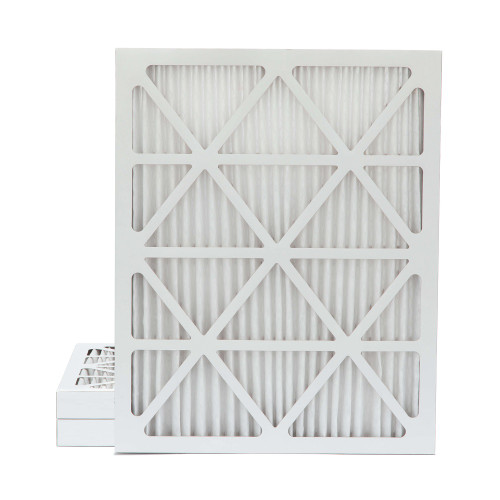 20x25x2 MERV 11 Pleated AC Furnace Air Filters.    3 Pack