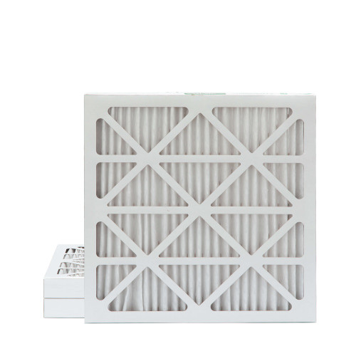 24x24x2 MERV 8 Pleated AC Furnace Air Filters.  3 Pack