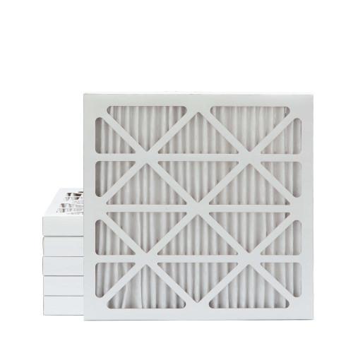25x25x2 MERV 13 Pleated AC Furnace Air Filters.   6 Pack