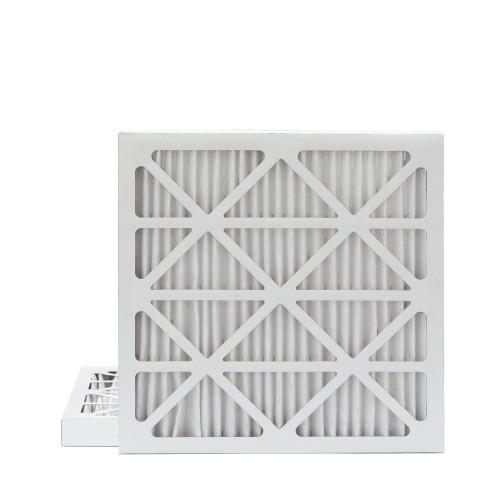 25x25x2 MERV 8 Pleated AC Furnace Air Filters.   2 Pack
