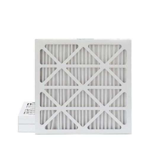 25x25x2 MERV 8 Pleated AC Furnace Air Filters.   3 Pack
