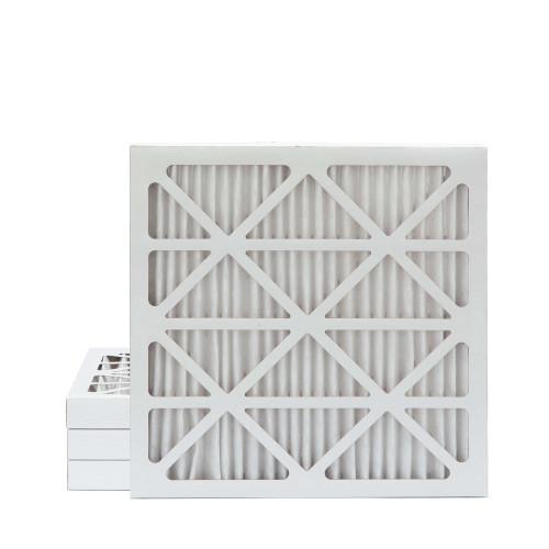 25x25x2 MERV 8 Pleated AC Furnace Air Filters.   4 Pack