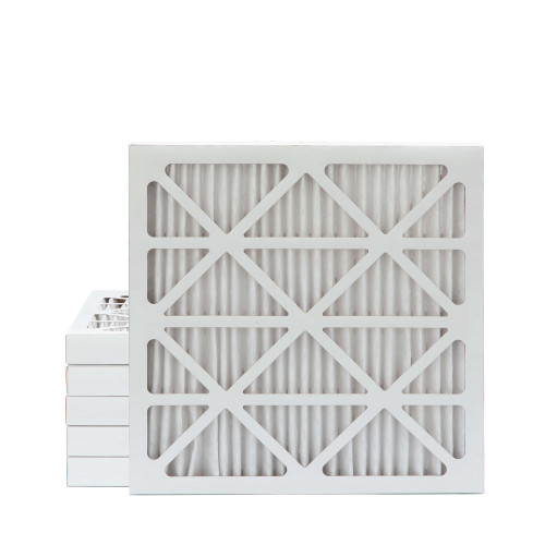 25x25x2 MERV 8 Pleated AC Furnace Air Filters.   6 Pack