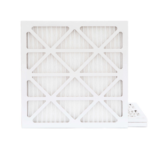 10x10x1 MERV 8 Pleated AC Furnace Air Filters.    3 Pack