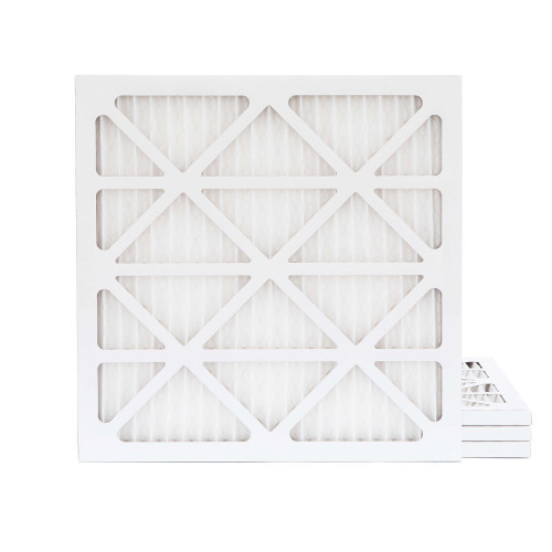 14x14x1 MERV 11 Pleated AC Furnace Air Filters.  4 Pack