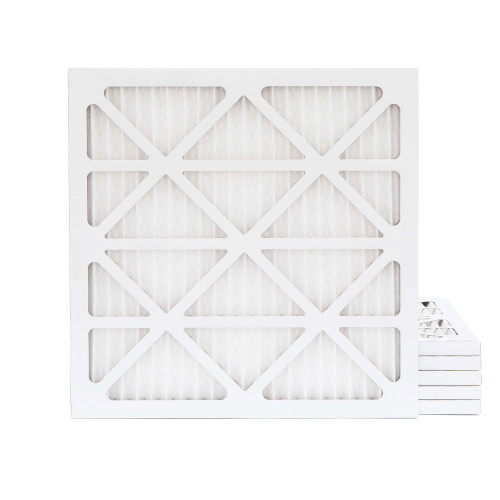 14x14x1 MERV 11 Pleated AC Furnace Air Filters.  6 Pack