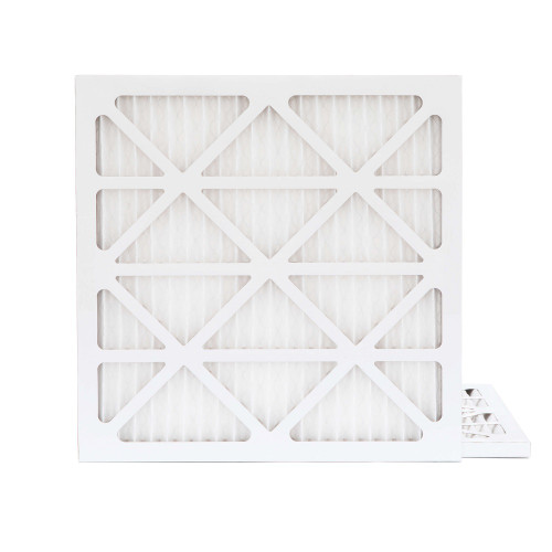 16X16X1 MERV 8 Pleated AC Furnace Air Filters.    2 Pack