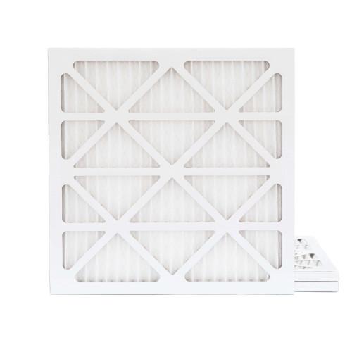 16X16X1 MERV 8 Pleated AC Furnace Air Filters.    3 Pack