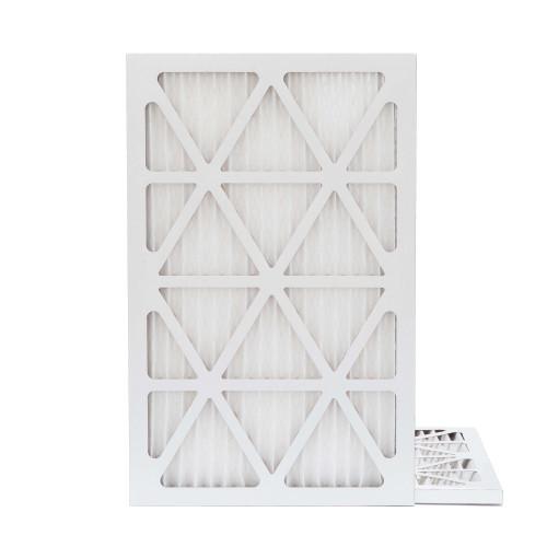 16X24X1 MERV 8 Pleated AC Furnace Air Filters.   2 Pack