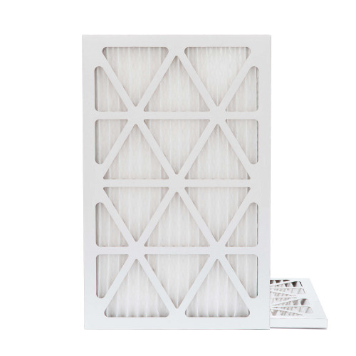 16x25x1 MERV 8 Pleated AC Furnace Air Filters.   2 Pack