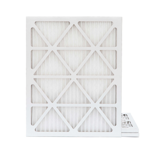 18x22x1 MERV 8 Pleated AC Furnace Air Filters.   3 Pack