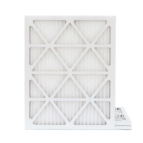 18x25x1 MERV 8 Pleated AC Furnace Air Filters.  3 Pack