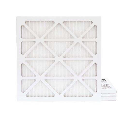 20x20x1 MERV 8 Pleated AC Furnace Air Filters.   4 Pack