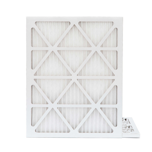 20x22x1 MERV 8 Pleated AC Furnace Air Filters.    2 Pack
