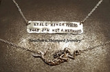Mermaiding - Hand Stamped Jewelry from our mermaids to yours