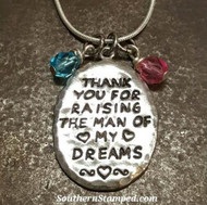 Southern Stamped Jewelry: The Way to Your Mother in Law's Heart