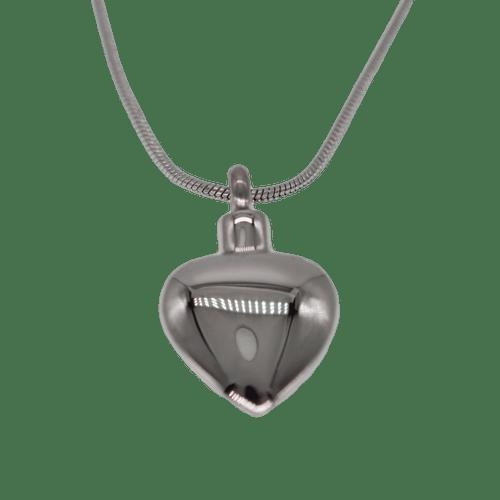 Silver Engravable Memorial Heart Urn