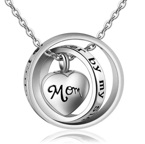 Forever In My Heart 3 layer Mom Memorial Urn Jewelry