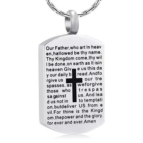 Lords Prayer Urn