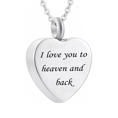 I love you to heaven and back urn