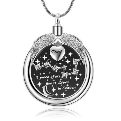 A Piece Of My Heart Dad Urn Jewelry