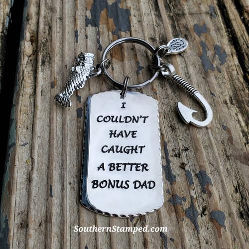 Bonus Dad Keychain