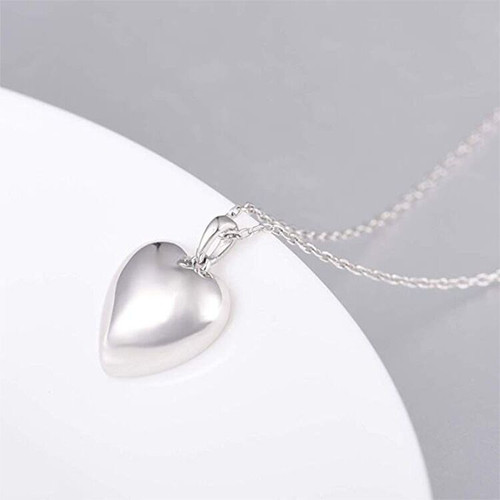 Sterling Silver Heart Urn Keepsake