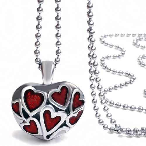 Red Heart Creation Urn Jewelry