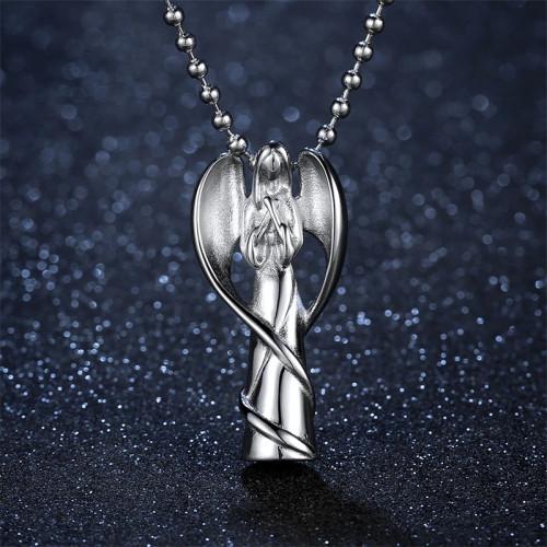 Angel Memorial Urn Necklace